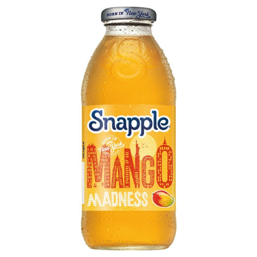 Snapple Mango Madness 473ml Glass (UK)